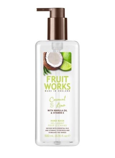 Fruit Works Coconut & Lime Sabunu 500 ml Renksiz